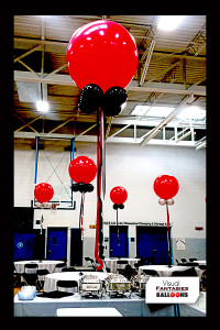 Black&RedFloating Centerpieces