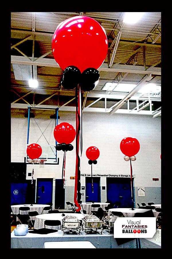 Balloon centerpieces visual fantasies balloons