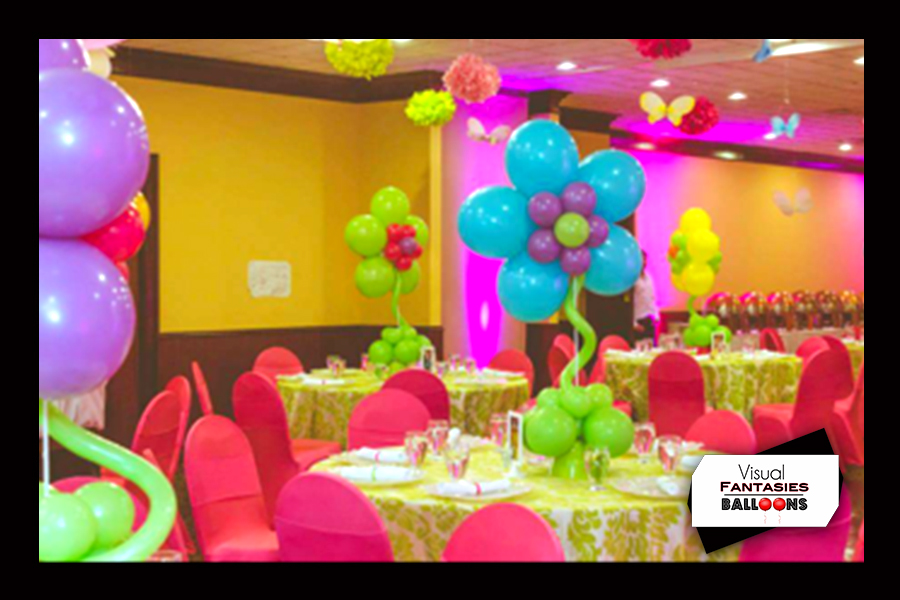 Balloon Centerpieces | Visual Fantasies Balloons