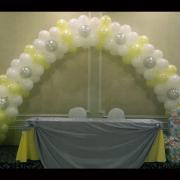 Artistic Balloon Arches