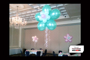 MultiColor Flower Centerpieces