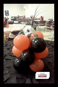 Orange&Blackcenterpieces