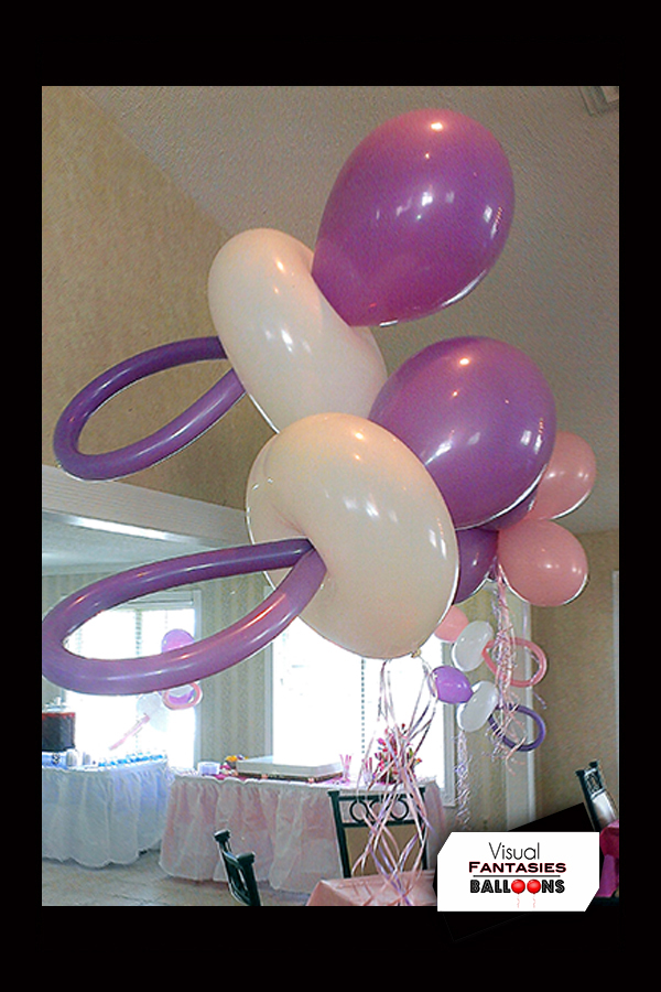 Balloon themed visual fantasies balloons