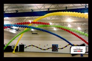 Rainbow single arches