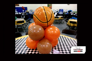 Sports Basketball Center piece