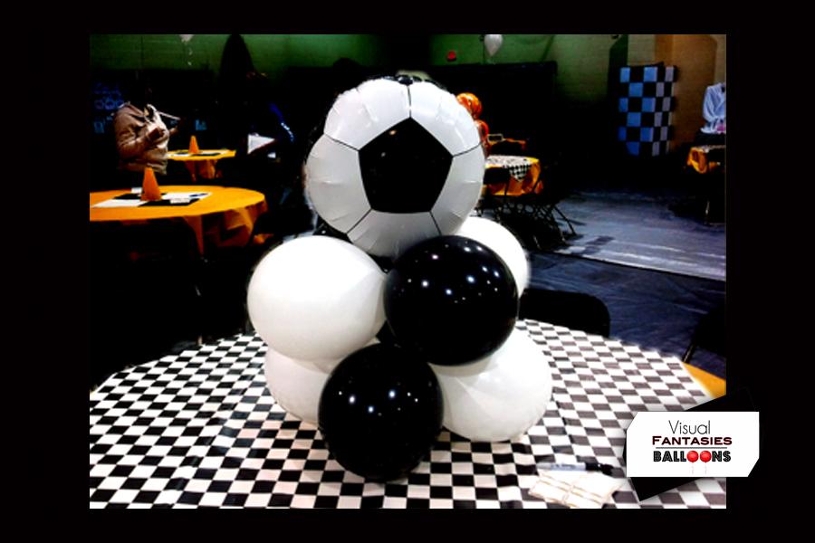 Birthday Themed Visual Fantasies Balloons