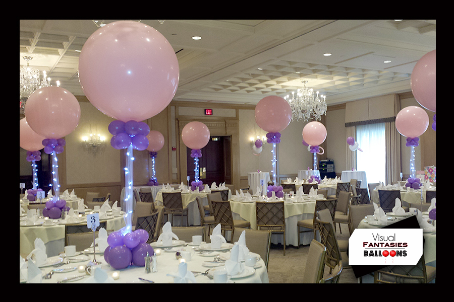 Bar and Bat Mitzvahs | Visual Fantasies Balloons