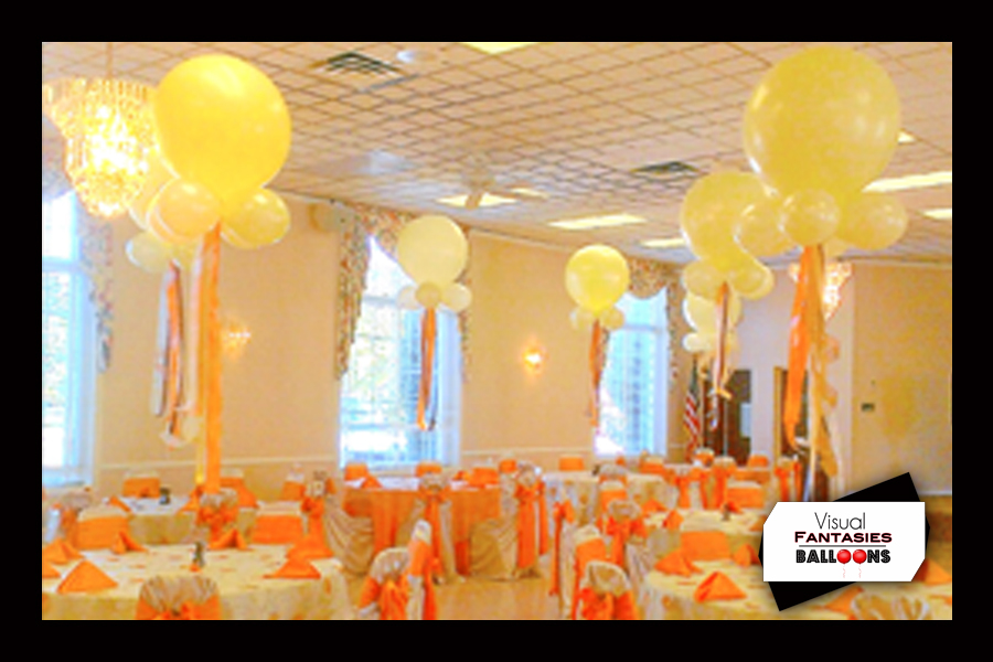 Balloon Centerpieces Visual Fantasies Balloons