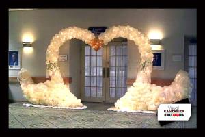 Wedding Swan Arch