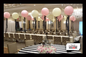 Yellow&Pink Centerpieces