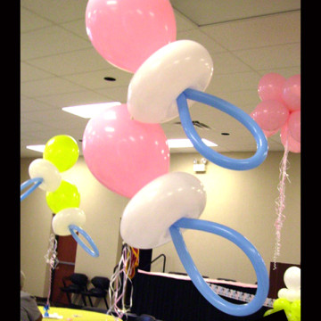 Baby Shower Balloon Artistry