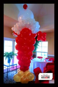 BalloonSculpture.BabyShower.IceCreamSundae