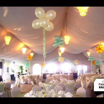 Wedding & Bridal Party Balloon Artistry