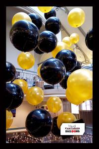 Black&GoldFloatingballoons