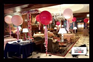 PinkFloating Balloons
